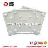Prensa de filtro hidráulica de placa del compartimiento de los PP Clading de la prevención de corrosión