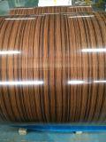 장식적인 물자를 위한 나무로 되는 천장 색깔 코팅 알루미늄 장