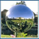 2100мм 1400мм SS304 наружного зеркала заднего вида из нержавеющей стали полированной сфере с толщиной 2 мм