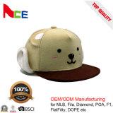 Cappelli su ordinazione promozionali all'ingrosso di Snapabck del tessuto di marchio per il bambino dei bambini