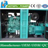 300KW 375kVA insonorizado generador diésel Cummins Power con regulador eléctrico