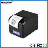 Escritorio POS Impresora de recibos, 80mm de recepción térmica Impresora, USB o RS232/PS2/LAN WiFi/Bluetooth/conectividades opcional, Mj Hop-E801