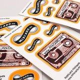 Adesivo impresso adesivo autocolante de tecido impresso UK