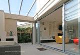 Подкрашиванные цветом раздвижные двери патио стеклянных листьев панели экстерьера 4 алюминиевые