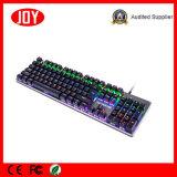 Clavier mécanique de jeu d'ordinateur de clés du professionnel 104