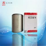 El filtro de aire para el motor hidráulico del excavador