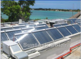 К услугам гостей бассейн солнечной системы отопления
