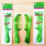 Cheap-Price-gros cadeau promotionnel fille les soins des cheveux peigne en plastique dans Green-Color