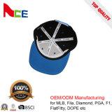 卸し売りHip Hop 6つのパネル3Dの刺繍の調節可能な高品質の急な回復の帽子
