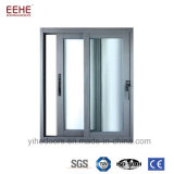 Aluminum Doors Windows Stained Knell Windows with Powder Coated