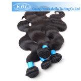 Het Franse Natuurlijke Geraffineerde Hairline Menselijke Zwarte Stuk van het Haar van de Parel