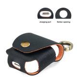 Alloggiamento sacchetto filtro protettivo del trasduttore auricolare dei collegamenti del cuoio genuino per Apple Airpods