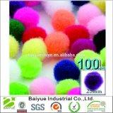 25mm смешали Multicolor сортированные шарики POM Poms для куклы DIY