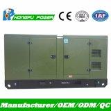50Hz 180kVA Power Generation avec groupe électrogène diesel silencieux de l'auvent