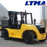 Caminhão de Forklift Diesel do aparelho de manutenção do material de 10 toneladas