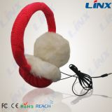 Merrry Christmas Plush Headphone Winter Headphone