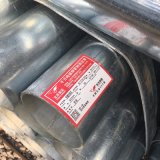 Resíduos explosivos de Tubo de Aço Galvanizado 1.5inch extremidades simples / Tubos Gi
