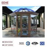 Beweglicher Sunroom-Haus-Garten-Hilfsmittel-Haus-Aluminiumgroßverkauf