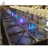 새로운 디자인 LED 결혼식은 플렉시 유리 단계를 상연한다