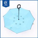 De dubbele Laag vormt Meer Omgekeerde Paraplu van Kleuren
