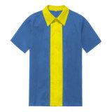 L'ultima camicetta di tono di disegno due di abitudine gira giù le camice degli uomini del collare