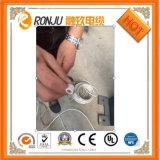 Fio flexível elétrico de cobre isolado PVC do núcleo 2.5mm do cabo 3 do plano 4mm do núcleo de BVVB