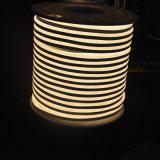 IP64 높은 광도 온난한 백색 LED 두 배 편들어진 네온 등 110V 8*16mm