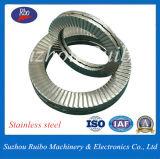DIN25201 304/316 de aço inoxidável (A2/A4) dual empilhados Arruela de Trava