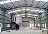 가벼운 건축 디자인 강철 구조물 창고