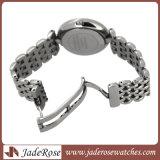 Estilo clásico ver moda ver reloj de cuarzo reloj de acero inoxidable