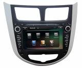 De Stereo-installatie van de auto/de Speler van de Auto DVD met GPS Navigatie voor Accent Verna