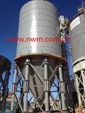 silo di cemento serrato 1000t al bacino