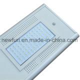 60W移動式APPのインテリジェント制御を用いる新しい太陽街灯