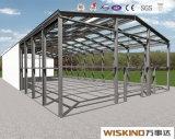 Здания проекта дома стальной структуры полуфабрикат