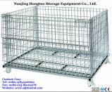Cage de treillis métallique en acier pour l'entrepôt de stockage avec Heavy Duty
