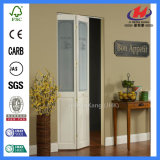 White Oak gabinete laminado Interior Porta Bifold em polegadas