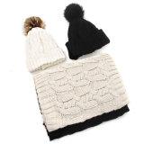 연약한 감각 순수한 색깔 베레모에 의하여 뜨개질을 하는 모자류 아크릴 모자
