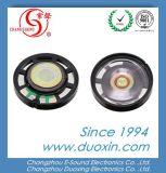 27mm en plastique mylar avec haut-parleur 8 ohms pour jouet 0,25 W en utilisant Dxp27W-B