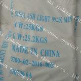 Luz CAS 497-19-8 da cinza de soda/carbonato de sódio