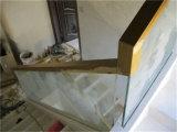 Escaleras de cristal de la barandilla de Frameless para el edificio comercial