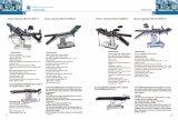 Tabella medica del tavolo operatorio (ECOH008 manuale)