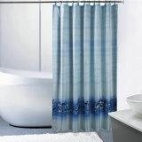 Занавес ливня ванной комнаты полиэфира Анти--Mildew У.С. популярный (17F00554)