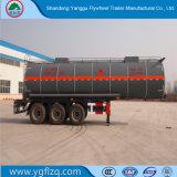 Schwefelsäure-Transport/muriatische Säure-Kohlenstoffstahl-Tanker-halb Schlussteil mit 3 Wellen