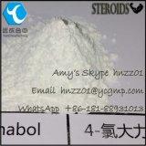 Ацетат CAS 855-19-6 занимаясь культуризмом Turinabol высокой очищенности 4-Chlorotestosterone