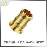 Adaptador de comunicação de bronze feito à máquina precisão fazendo à máquina das peças do bronze C3600 de Soild