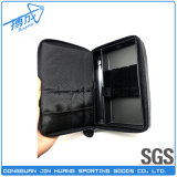 нагруженные 3PCS черные малые кожаный бумажник/мешок/случай дротика