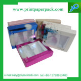 Rectángulo de empaquetado olográfico modificado para requisitos particulares manera del cosmético del rectángulo del perfume