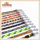 Leibanden van Collars& van de Kat van de Hond van de Druk van de Overdracht van de kwaliteit de Nylon (KC0100)