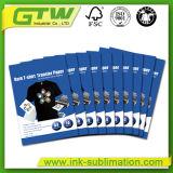 Um papel de transferência de jato de tinta sublimação4 para T-shirt produzir