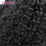Estensione brasiliana dei capelli umani dell'onda di acqua di Remy del Virgin di prezzi di fabbrica di Yvonne